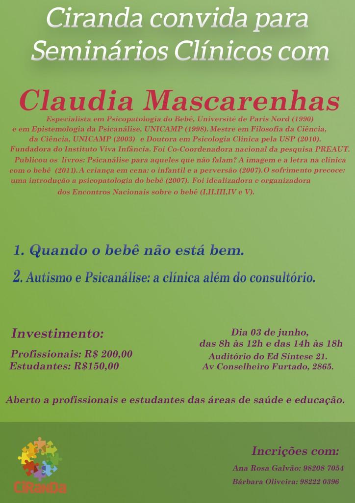 SEMINARIOS CLINICOS- claudia mascarenhas